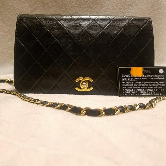 00af634bed68 CHANEL Handbags - Chanel Single Flap Shoulder Bag